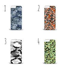 Camo Camoflage Patern Plastica Custodia Cover iPhone/Samsung tutti i modelli