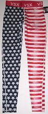 NWT VICTORIA'S SECRET SPORT PATRIOTIC AMERICANA FLAG STARS THE PLAYER LEGGINGS