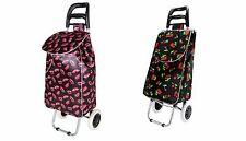 Funky Folding Music Festival Essential Shopping Trolley Luggage Bag With Wheels