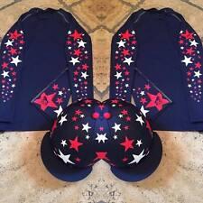 SXC a Stella Cross Country colore XC stelle CONCORSO COMPLETO Equitazione Cappello seta COVER