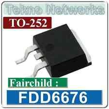 Fairchild - FDD6676 70W 78A TO-252 MOSFET Transistor -5pcs