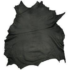 Negro De Prendas De Calidad De Cuero Oveja Cordero napa color piel