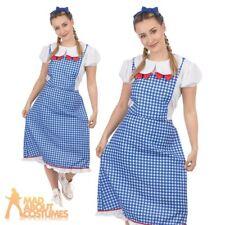 C931RB Licensed Wizard of Oz Dorothy Fancy Dress Halloween Adult Costume