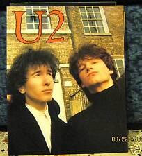 U2-LIBRO  FOTOGRAFICO -FRATELLI GALLO EDITORE 1986