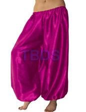 Violet Red   Satin Harem Yoga Trouser Belly Dance Pant Pantalons Boho   27 Color