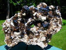 Large Malawi Smoky Quartz Crystal Cluster