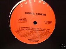 "SOPHIE B HAWKINS RIGHT BESIDE YOU 12"" DJ COPY RARE"