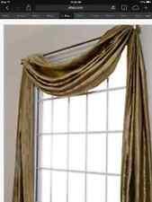 Bridal Satin Scarf Valance to Dress up your Windows