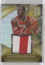2013-14 Panini Spectra Materials Gold #23 Dwight Howard Houston Rockets Card