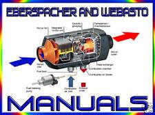 Eberspacher & Webasto Calefactor & Manuales de servicio de reparación