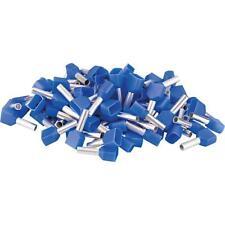 100 Stück Aderendhülsen isoliert Aderendhülse Pin End Terminal AWG 14 Blau 2,3mm
