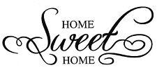Wandtattoo Wandaufkleber Flur Wohnzimmer Home Sweet Home