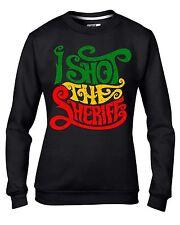 I Shot The Sheriff Reggae Women's Sweatshirt Jumper - Bob Marley Rasta