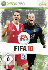FIFA 10 (Microsoft Xbox 360, 2011, DVD-Box)