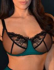 Sensual seas soft cup sheer bra Plus Size