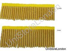 Fringe Gilt Bullion Fringe Lace Braid Select size 38mm 50mm Sold Per 6 inch