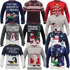 herren weihnachten pullover rentier Threadbare neuheit santa gestrickt norweger