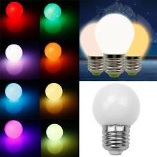 Dimmable RGB LED Globe Bulb E26 E27 B15 B22 E14 3W 220V Color Change Lamp RM