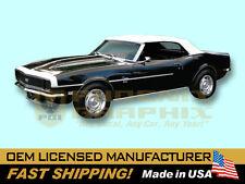 1968 Chevrolet Camaro Super Sport SS VINYL Decals & Stripes Kit