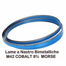 LAMA  Bi-Metal M42 PLUS COB,8%  LARGHEZZA 20 mm.per segatrici a nastro per ferro