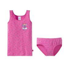 Schiesser Garnitur Set Mädchen Unterhemd + Slip / Unterhose Lillifee NEU