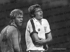 England V Holland - 9th Feb 1977 - Various Action - B&W