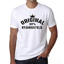 Original Kranichfeld Tshirt, Homme Tshirt Blanc, Cadeau Tshirt, Geschenk