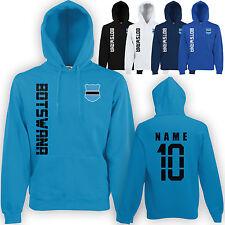 Botsuana hoody capucha jersey camiseta con nombre & número S M L XL XXL