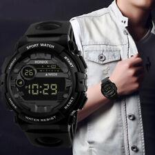 HONHX Mens Digital LED Watch Date Sport Men Outdoor Electronic Wristwatch