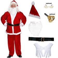 Weihnachtsmann Verkleidung Kostüm 6 oder 7 Teile Gr.XL Nikolauskostüm Santa