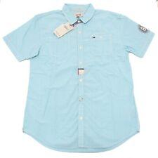 0618P camicia manica corta short sleeve HILFIGER DENIM camicia uomo shirt men