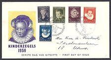 FDC E 28 - E28 Kinderzegels 1956