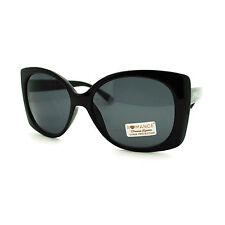 Romance Diva Womens Square Rectangle Butterfly Large Designer Fashion Sunglasses