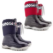 DEMAR Winterstiefel Gummistiefel Schuhe gefüttert Winterschuhe Snowboots FROST