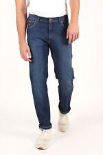 Mens Ex Wrangler Blue Texas Stretch Straight Fit Jeans (SECONDS) WA136 Stonewash