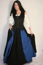 Moyen-âge Servante Chemisier Corselet Robe Jupe complet Vêtement 36 38 40 42 44