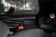 FITS AUDI A3/S3 LEATHER GEAR&HANDBRAKE GAITER  RED STITCH