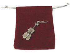 Music Gift Violin Zipper Pull Charm Clothing Bags NEW