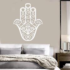 Vinyl Decal Fatima Hand Talisman Hamsa Bedroom Art Stickers (ig3994)