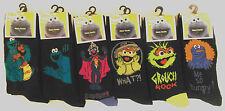 SESAME STREET - Men's Funny/Comic/Character Design Socks Size UK 6-11