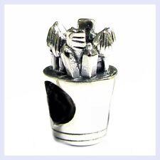 Sterling Silver Artist Painting Brush Screw On Bead f/ European Charm Bracelet