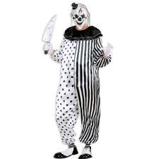 Traje De Halloween Harlekin Asesino Payaso Pierrot Equipo Horror Pantomima MONO