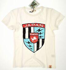 Japan rags ●● blanche t-shirt vintageprint rouge noir Div. tailles nouveau M. et.