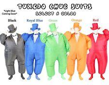 Adult Chub Suit Inflatable Blow Up Color Dress Party Tuxedo Tux Jumpsuit Costume