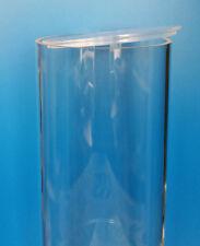 PLEXIGLAS® ROHR / ACRYLROHR L = 1000 mm, ø 50 - 400 mm mit Deckel und/oder Boden
