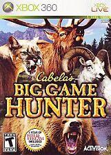 Xbox 360 : Cabelas Big Game Hunter VideoGames