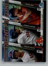 2017 Bowman Chrome Mega Box Talent Pipeline Baseball Cards Pick From List