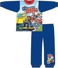 garçons PAW PATROL 2 pièces pyjama bleu neuf avec étiquettes