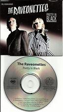 THE RAVEONETTES Pretty In Black ACK51633 RARE ADVNCE USA PROMO DJ CD in Slimline