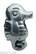 Un Lindo de aleación sea Horse Bead Fit europeo encanto Cadena
